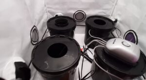 inside grow tent kits grow tent hydroponic bucket system