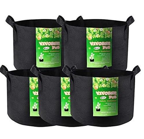 VIVOSUN Grow Bags – Best for Smaller Plants