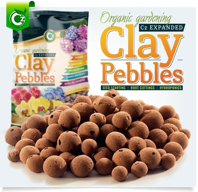 CZ Garden Organic Expanded Clay Pebbles – Best Organic Option