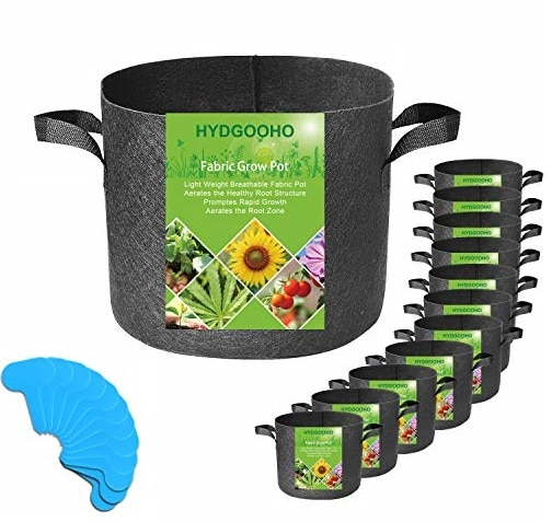 HYDGOOHO Grow Bags – Best Fabric Grow Bags