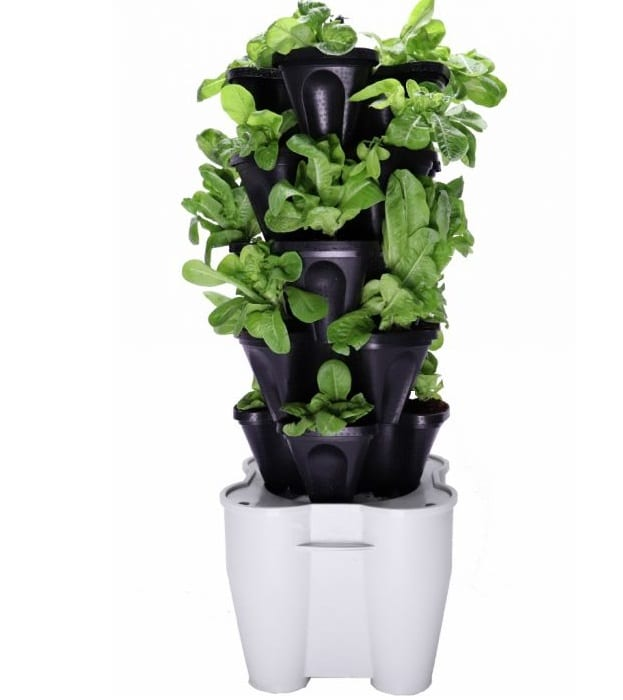 Mr. Stacky Smart Farm- Automatic Self Watering Garden – Best Vertical Tower Hydroponic System