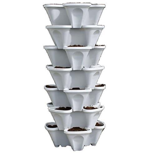 Mr. Stacky 5 Tiered Vertical Gardening Planter – Best Indoor Vertical Garden Systems